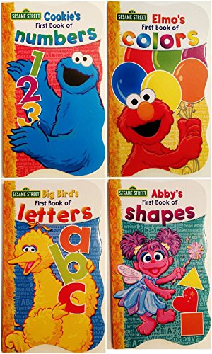 Shapes & Colors – Sesame Street First Books Series